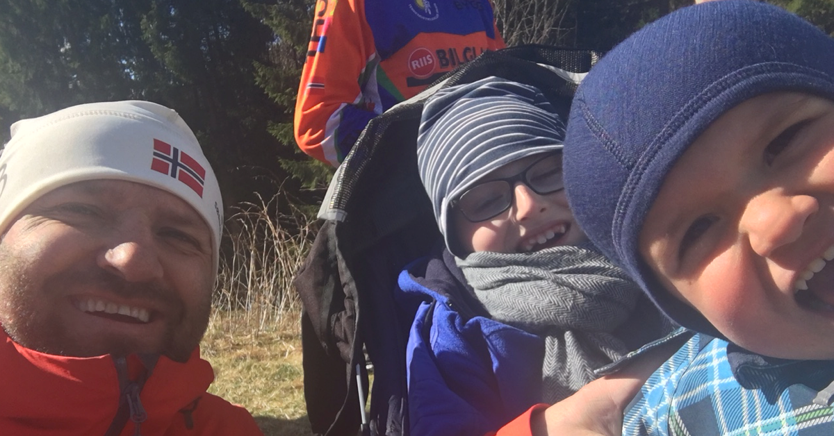 Family with disabled child on a hike. Having a child with disabilities: Living, challenges and finding time for yourself