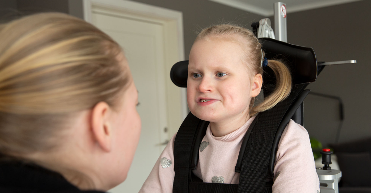 This is how Selma lives with Rett syndrome
